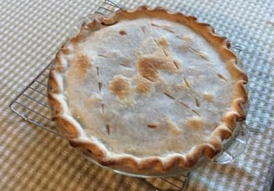 Green Tomato Mock Mincemeat Pie