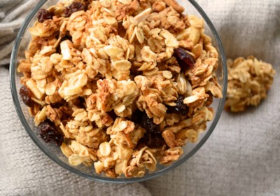 Canadian Vegan Peanut Butter Granola Recipe