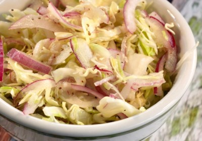 Tangy Coleslaw for Pulled Pork