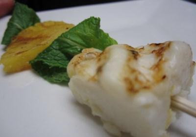Espetinho de Queijo Coalho Com Abacaxi (Brazilian Grilled Cheese with Pineapple)