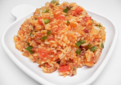 Spanish Rice (Microwave)