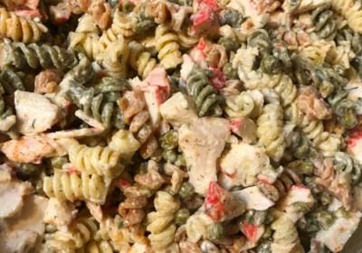 Easy Crab Pasta Salad