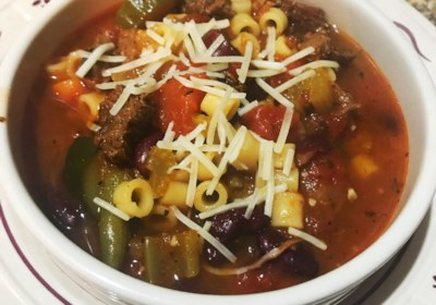 Hearty Minestrone Soup (Instant Pot®)
