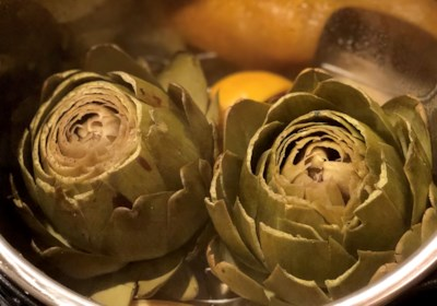 Instant Pot® Steamed Artichokes