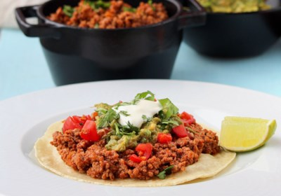 Cameron's Ground Turkey Salsa Ranchera for Tacos and Burritos