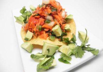 Carrot Ceviche (Vegan)