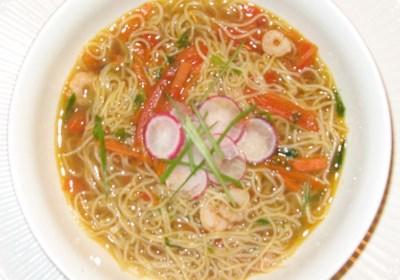 Oriental Shrimp Noodle Soup
