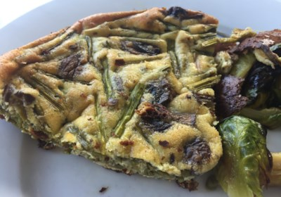 Italian Asparagus and Mushroom Frittata