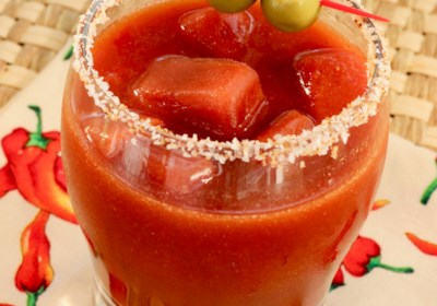 Easy Cajun Bloody Mary
