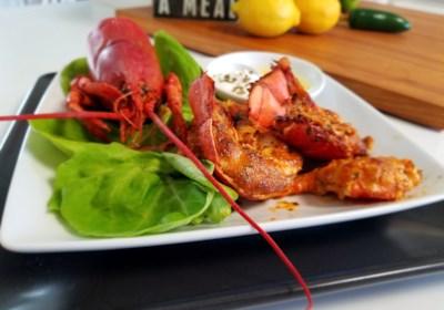Deviled Lobster Tails