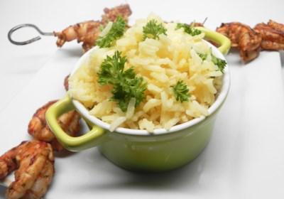 Easy Lemon Rice Pilaf