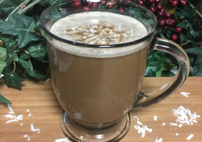 Low-Carb Paleo and Dairy-Free Coconut Dirty Chai Latte for Two