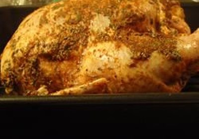 Sarah's Dry Rubbed Chicken