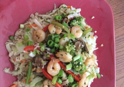 Spicy Garlic and Pepper Shrimp