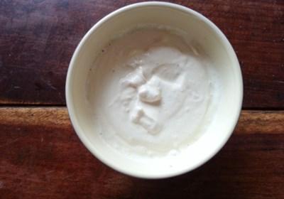 Lemon Tahini Yogurt Sauce