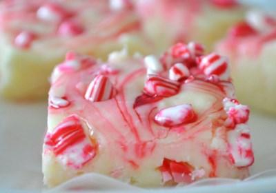 Candy Cane Fudge