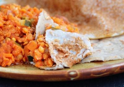 Injera (Ethiopian Teff Bread)
