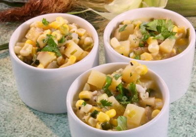 Fresh Summer Corn Chowder