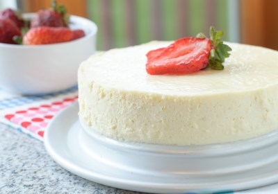 Low-Carb Sugar-Free Instant Pot® Cheesecake