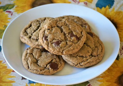 Cardamom and Espresso Chocolate Chip Cookies