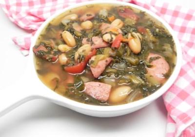 Rachel's Turnip Green Soup (Instant Pot®)