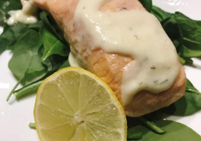 Meyer Lemon Cream Sauce for Salmon