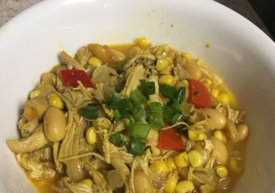 Spicy White Chili with Chicken