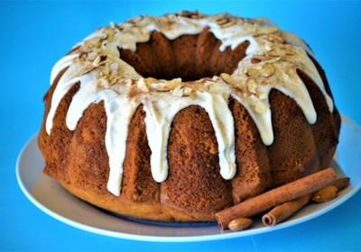 Cinnamon and Amaretto Pound Cake