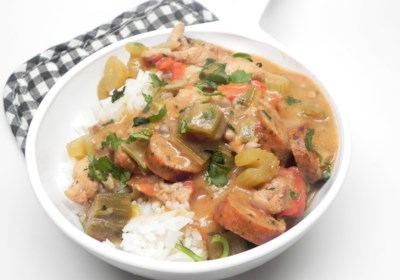 Instant Pot® Chicken and Sausage Gumbo