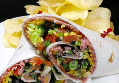 Dan's Meat Wrap