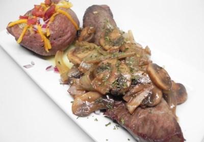 Valentine's Day Steak