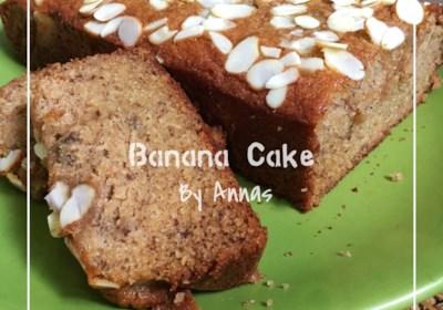 Simple Banana Coffee Cake
