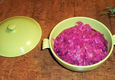 Danish Christmas Red Cabbage