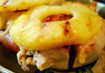 Grilled Chicken Pineapple Sliders