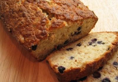 Favorite Banana Blueberry Quick Bread