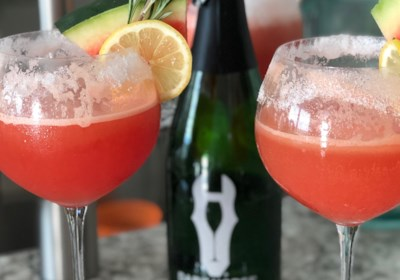 Rosemary-Infused Watermelon Lemonade