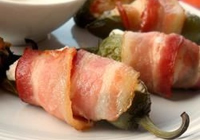 Rob's Screaming Stuffed Jalapeno Peppers