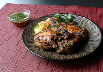 Laotian Grilled Chicken (Ping Gai)