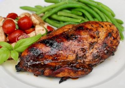 Grilled Balsamic Chicken Breast