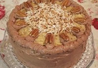 German Sweet Chocolate Cake I