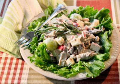 Fruity Chicken Salad with Tarragon