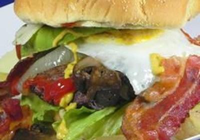 'The Pacemaker' Venison Burger