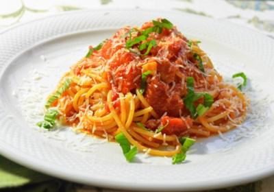 Enzo's Spaghetti all'Amatriciana