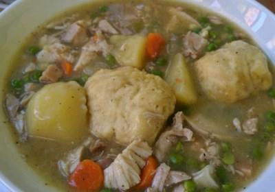 Irish Chicken and Dumplings