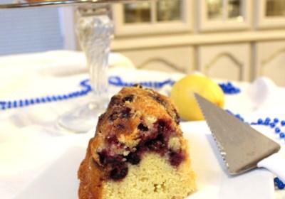Blueberry Bundt® Cake