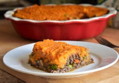 Sweet Potato and Venison Shepherd's Pie