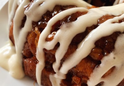 Apple-Walnut Cinnamon Roll Monkey Bread