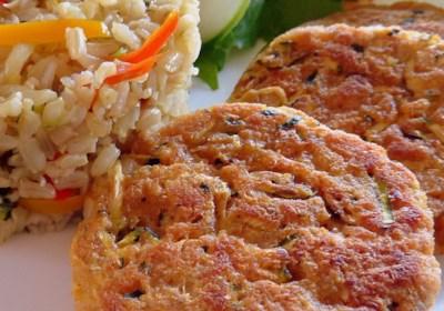 "Connie's Zucchini ""Crab"" Cakes"