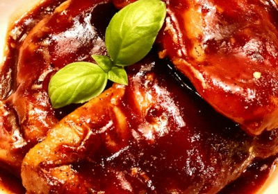 Slow Cooker Barbecue Chicken Breast