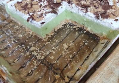 Pistachio Ice Cream Dessert
